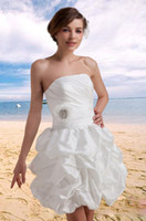 Ball Gown Taffeta Modern 2013 Hot New Strapless Mini Ball Gown White Taffeta Homecoming Dresses with Beads Pleat Lovely and Cheap a2