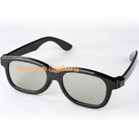 Wholesale Fedex plastic circular polarized D glasses opp packing