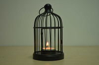Wholesale Iron Candle Holder Weddings lantern Candle Holder bird cage shape Candle holder Wedding Decoration