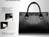 Wholesale Hot Celebrity Girl Crocodile diagonal retro wave packet shoulder bags handbag more colors LNP904G