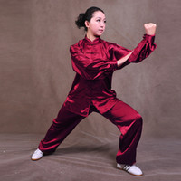 Wholesale New New silk tai chi clothing spring and autumn performance clothing women clothes