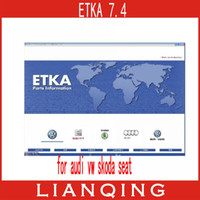 Wholesale 2013 NEW ETKA PLUS for Audi VW SKODA SEAT car repair software