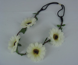 Hot Sale Fashion Jewelry 50Pcs Mixed Colors Flower Fascinator Headpiece Bride Tiara Wedding Prom Hair Band Headband