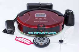 Wholesale 3 YEARS WARRANTY Robot Cleaner Robot Vacuum Clean with CE ROHS EMC FREE SHIPING