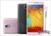 Wholesale Note Note3 N9000 Android MTK6582 Quad Core quot Screen pixels G RAM G ROM MP MP Camera G GPS Mobile phone