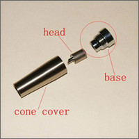 base cover - Cheapest ego c Atomizer cone cover atomizer Coil Head be used together with eGo C atomzier base Tank Cartridge and Atomizer cone cover