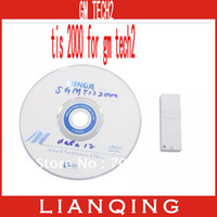 Wholesale GM Tech scanner TIS Software with Dongle for GM Vehicles Tech2 TIS2000 USB KEY in stock