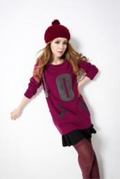 Wholesale 2014 new fashion ladies long hoodies plus sizes red purple green loose velvet warm with cap Hedging casual S XL Bust cm xb930 best