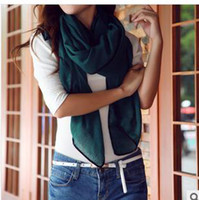 Wholesale 2013 ms han edition new winter twill cotton scarf cm silk scarves