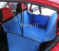 Wholesale Pet Cover Waterproof Dog Car Seat Cover Pet Dog Cat Car Seat Carrier