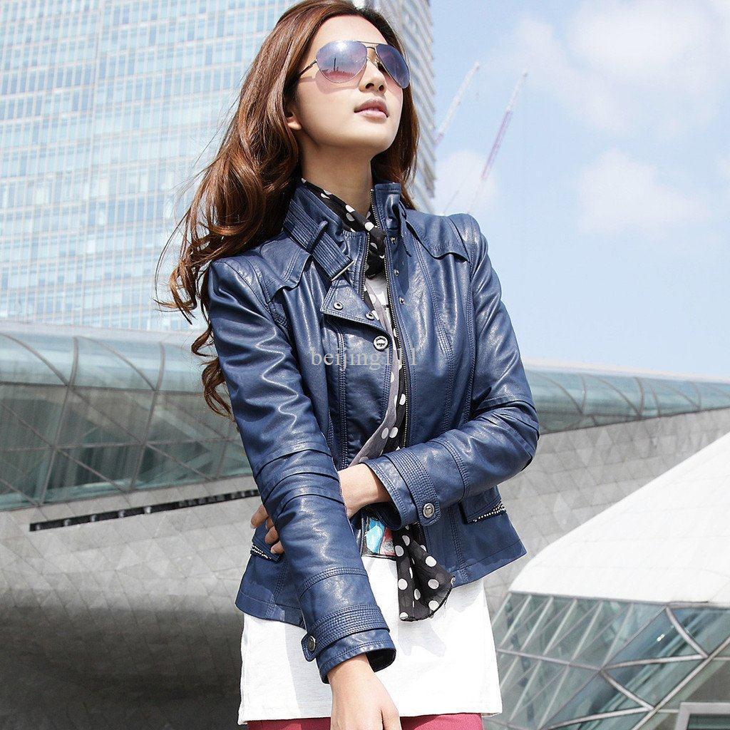 Leather jacket fashion - Women S Fashion Leather Jackets