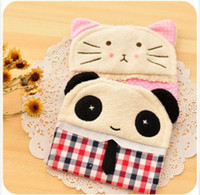 Cotton Admission package sanitary napkins Eco Friendly Meng Department of lovely panda and cat models Korean admission package sanitary napkin package