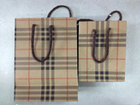 Wholesale 15cmx20cmX7 cm Multifunction Kraft bags Kraft Paper Gift packing bag christmas gift bag Festival gift package Shopping bag