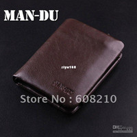 Men bag bro - leather pocket money bag for men Fashion and New leather wallet MD045B Bro Bla
