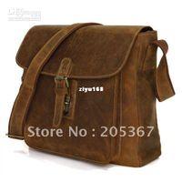 Wholesale B Cowboy Crazy Horse Leather Men s Messenger Bags Satchel Shoulder