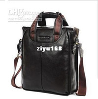 Vente en gros - sacs hommes 100 % cuir véritable de marque sacs à main Designer sac à bandoulière homme d'affaires * frais de port offerts GL007