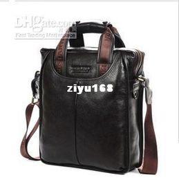 Sac d'affaires en Ligne-Vente en gros - sacs hommes 100 % cuir véritable de marque sacs à main Designer sac à bandoulière homme d'affaires * frais de port offerts GL007