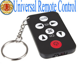 Wholesale S5Q Universal IR Remote Control Mini Infrared Key Chain Geek Tools For TV