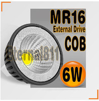 Wholesale External drive High Power Dimmable MR16 GU10 E27 B22 E14 GU5 W Spotlight Lamp CREE LED V Light Bulb Downlight