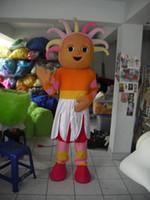 Wholesale Upsy daisy doll girl Mascot Costume Halloween Party Children