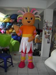 Upsy daisy doll girl Mascot Costume Halloween Party Children