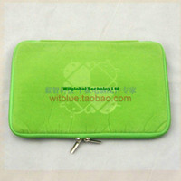Wholesale 20PCS quot Ainol NOVO7 Fire Flame Elf Legend Aurora II Tablet Soft zip Neoprene Pouch Bag Sleeve Case Cover