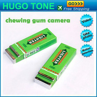 Wholesale Mini Bubble Funny Hidden Chewing Gum DV Shape Camera Anti Spy Video Motion Detection DVR