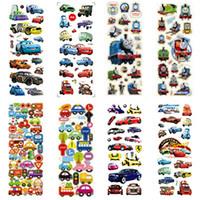 Wholesale 100pcs Various Designs Thomas D Stickers Eva Stickers fridge magnets for Kids Toys ZH901