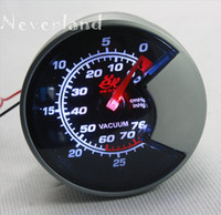Wholesale Neverland Universal Car Autogauge Vacuum Gauge Pressure Indicator Meter in Hg New