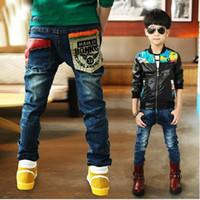 Wholesale autumn summer jeans new boys jeans Children Jeans Children boy s pants kids jeans pants denim B029