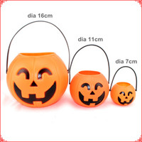 Halloween pumpkin - Dia cm Medium Size Halloween Pumpkin Cans Pumpkin Lanterns Festive Gifts Party Supplies WS041