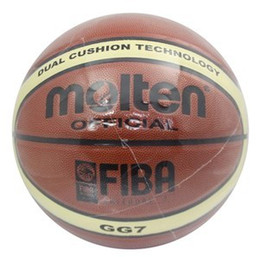 Wholesale MOLTEN GG7 Official Basketball Microfibers PU Basketballs to Singapore