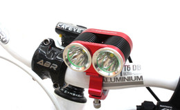 Wholesale 2015 NEW Cree XM L U2 LM Mode White Light LED Bicycle Light Battery eu uk au us plug Charger