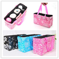 Wholesale 10PCS Baby Diaper Bag Baby Feeder Bottle Holder Mummy bag Carrier Storage bag Organizer Pouch Handbag Nappy bag Mama bags colors