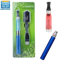 Wholesale Jinfushi ego ce4 blister kit e cigarette ml ce4 clearomizer and electronic cigarette ego battery ego t for