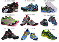 Wholesale Training Running Shoes Salomon Store SpeedCross3 Zapatillas Outdoor Walking Shoes styles mix orders sapatos esportivos Worldwide Shipment