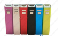 Wholesale A2 Lip Gloss mAh External Battery Power Bank Charger iPhone iPads iPods