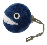 3-4 Years anime cell phone charms - 10pcs New Super Mario Bros Plush Chain Chomp quot Charm Straps for Cell Phone iPod MP3