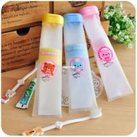 Bag aluminum toothpaste tube - essential travel portable soft plastic hanging toothbrush toothpaste tube teeth with Travel Set