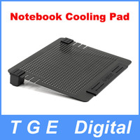 Wholesale ORICO NCA BK Aluminum Notebook Cooling Cooler Pad with two Freely Place or Remove Fans Laptop Cool Pad