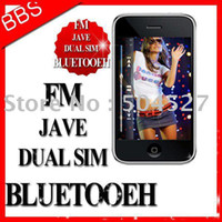 3.2 Dual SIM Dual Sim Card unlocked phone latest i9+++ mobile phone dual sim SciPhone cell phone FM JAVA i68 4G