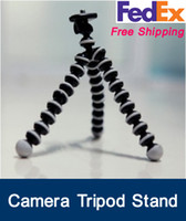 Wholesale Fedex gorillapod Octopus Flexible Universal Digital Camera Tripod Stand Mini Holder Stand