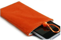 Wholesale 8 Soft Cotton Cell Phone Camera power bank hard disk tablet bags Pouch for ipad ipad mini Mp4 Mp5 Case color MOQ