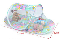 baby playpen - Baby Mosquito Net Fold Safty Mosquito Net Boat Style Playpen Shade Travel Tent Bed
