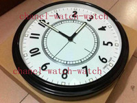 Wholesale Factory Seller Brand New AAA Quality Home Decor White Black Metal Quartz Wall Clocks Watch CMx CM Luminous Battery Wall Clock Watches