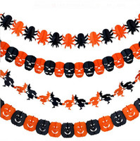 Wholesale Creative Halloween Garlands Party Decorations Hanging Charms Accessories for Halloween Party WS018