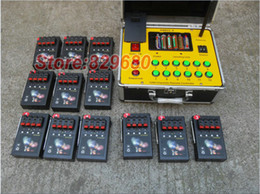 Wholesale 2015 new pass groups Electronic Equipment Ignition cues DBR01 cues wire remote control fireworks firing system m Long distance