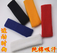 Wholesale Best seller sports safety sweatband multicolor head band sweatband mix order free shippng