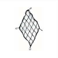 Wholesale 30x30 cm Motorcycle ATV Helmet Cargo Bungee Web Mesh Luggage Mesh Motorcycle Cargo Hooks Hold