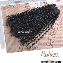 Wholesale kinky curly b natural brazilian remy hair extensions hair weave human hair bundles pack g